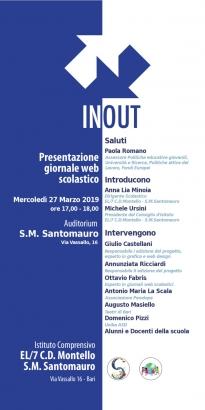B.3 Presentazione II ed. progetto INOUT
