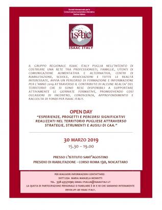 B.4 Open Day ISAAC Puglia (nuova sede)