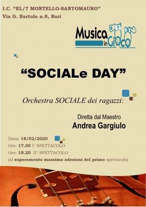 B.4 SOCIALe DAY