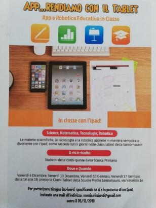 A.8 App...rendiamo con il tablet
