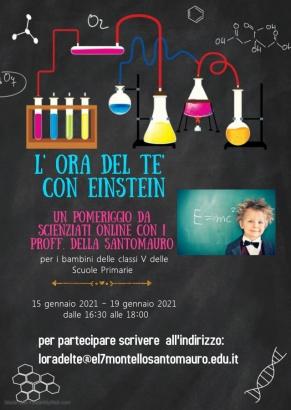 A.6 L' ora del tè con Einstein