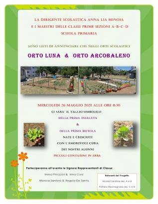 A.10 Locandina progetto Orto