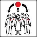 simbolo ARASAAC di organizzazione