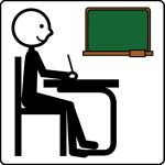 simbolo arasaac per alunno