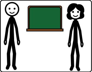 simbolo ARASAAC docenti