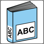 simbolo arasaac per dizionario